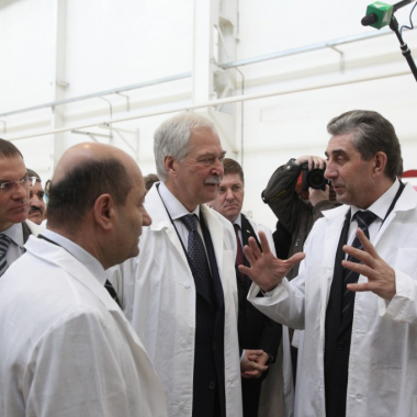 Встреча Председателя ГД Федерального Собрания РФ Грызлова Б.В. с научным сообществом Оренбургской области
